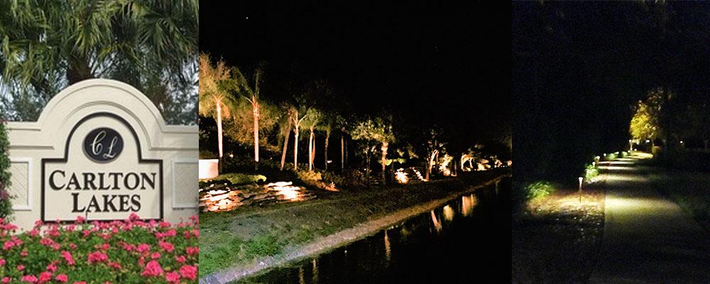 Community Lighting - Carlton Lake | Naples Landscape Lighting