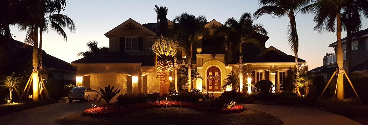 Home Lighting   Naples Landscape Lighting