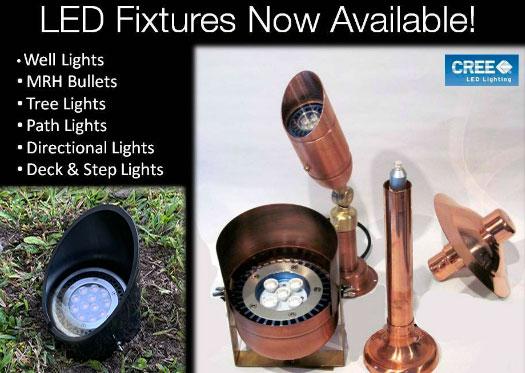 New LED Fixtures | Naples Landscape Lighting
