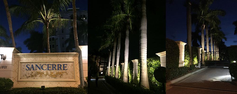 Community Lighting - Sancerre | Naples Landscape Lighting